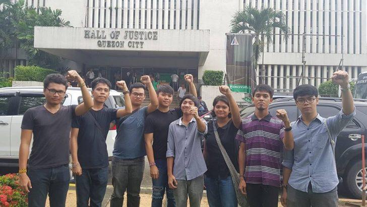 Court drops raps vs. 'Kabataan 8'
