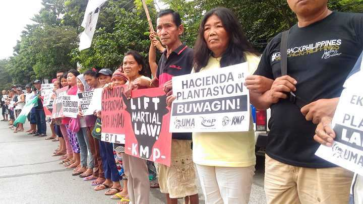 Farmers slam expansion of plantations under Duterte gov't