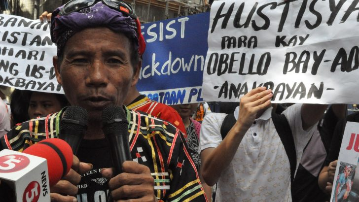 Kin of slain Lumad youth ask DOJ to probe case