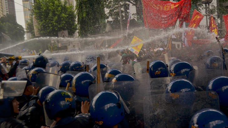 Solons want probe on police use of sonic cannon vs protesters