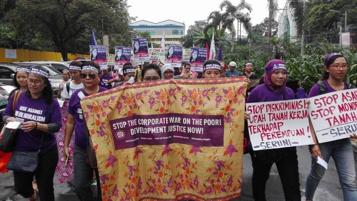 Filipino women say 'no' to Trump, neoliberal policies