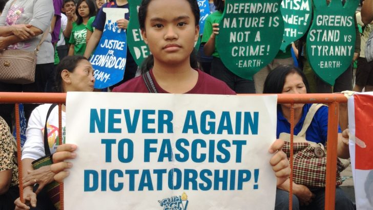 Youth's message to Duterte: human rights abuses breed resistance