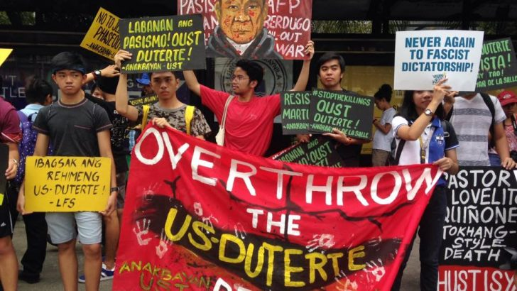 Activists tell Duterte: 'Change lies in the youth'