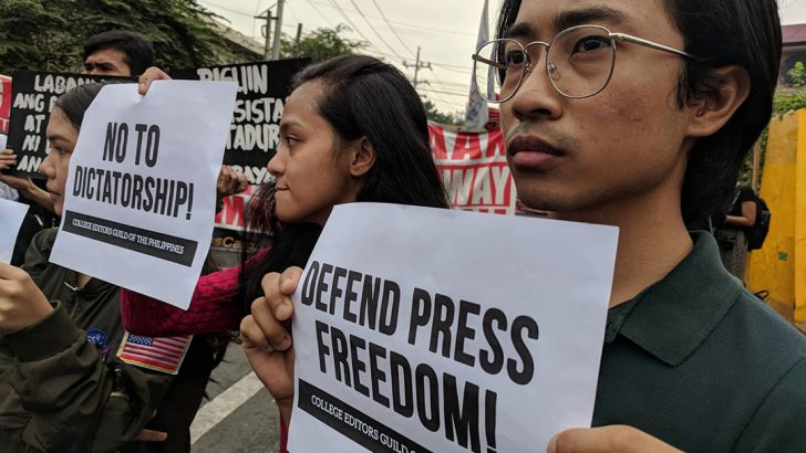 #FightBack | Journalists support Rappler's plea to stop coverage ban