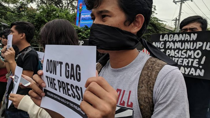 #BlackFriday protests set in defense of press freedom