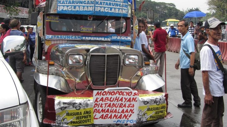 Start of jeepney phaseout protested, alternatives pushed
