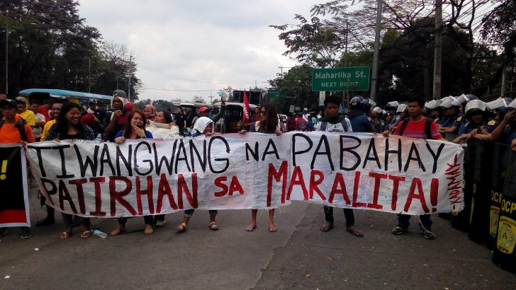 Caravan to assert right to housing, resist eviction in Pandi held