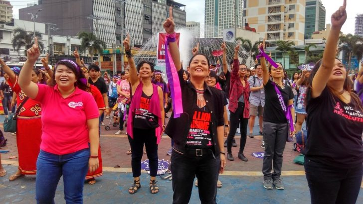 OBR 2018 | Women rise against 'fascist, misogynist Duterte'