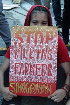 Sinagbayan placards