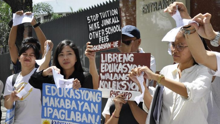 State colleges, universities, collecting tuition, other fees despite Free Education Act