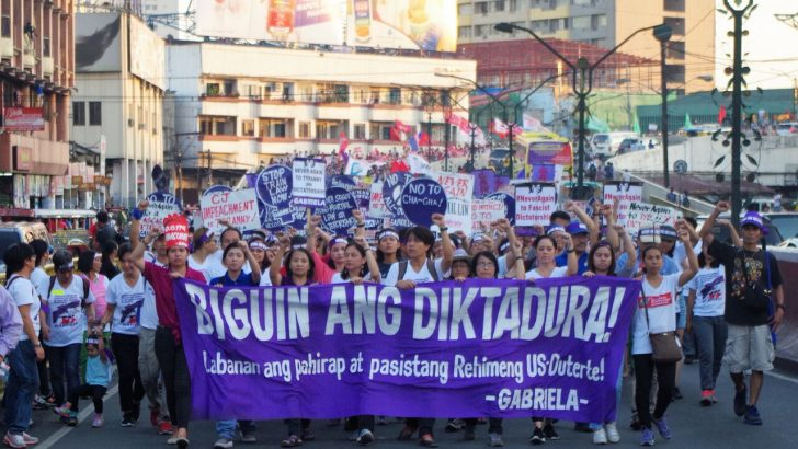 On international working women's day | Women vow to frustrate 'Duterte's dictatorship'