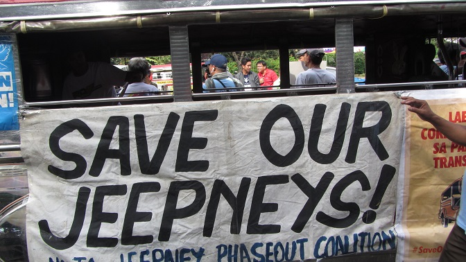 'Fake' Tanggal-Bulok just a repackaged jeepney phaseout – transport strikers