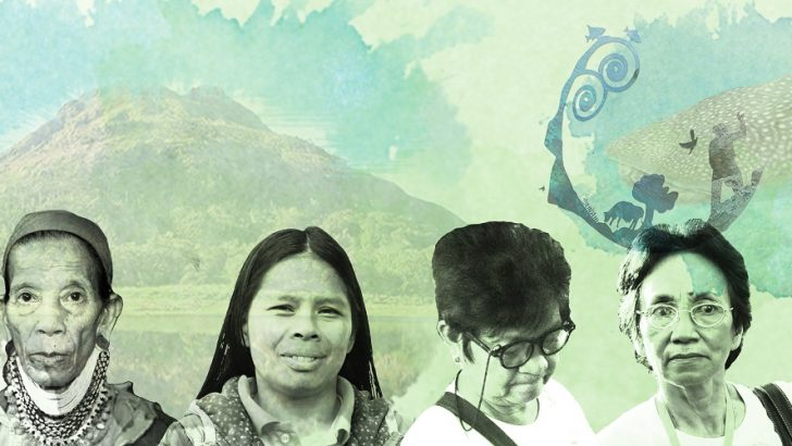 Four heroic women for Mother Earth