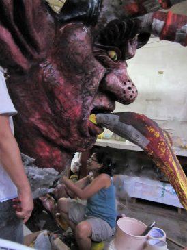 Duterte effigy