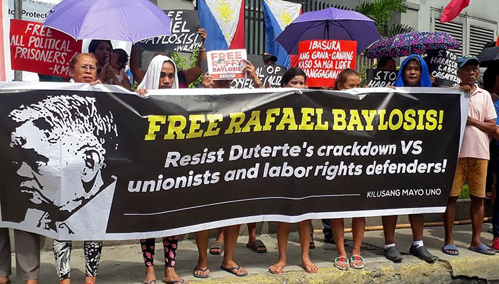 Kin, rights groups demand release of NDFP consultant Rafael Baylosis