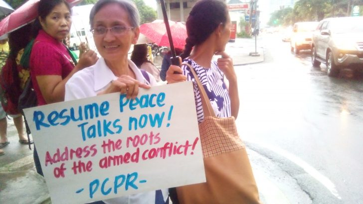Peace advocates call on Duterte: 'Negotiate, don't dominate'