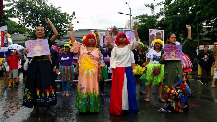From social media to the streets: Women call out Duterte's misogynistic behavior in #BabaeAko march