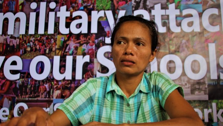Volunteer teacher? recounts rebel-tagging