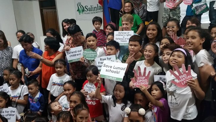 'Duterte, most brutal to children' – child rights group