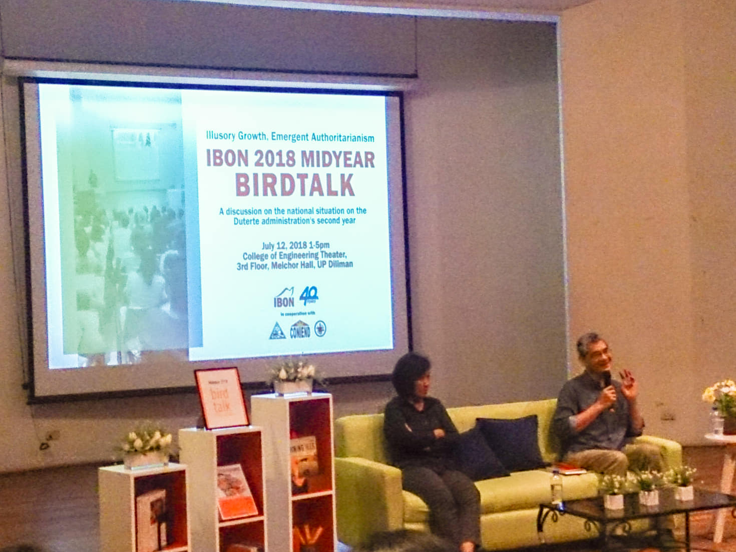 ibon bird talk 2018