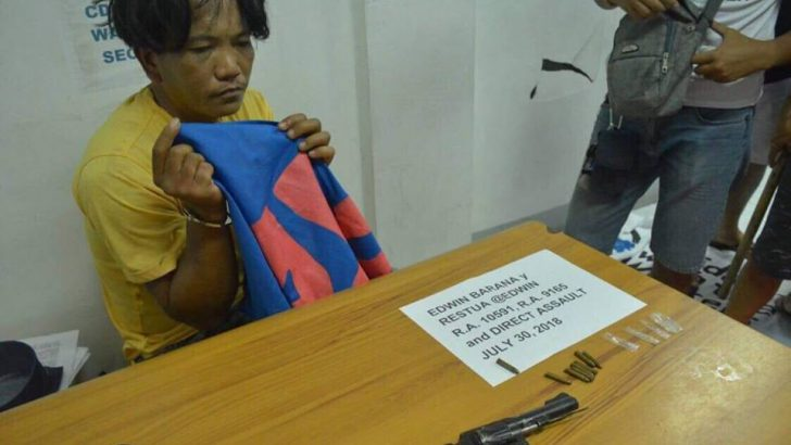 Police: 20th suspect arrested at NutriAsia dispersal had a gun, shabu
