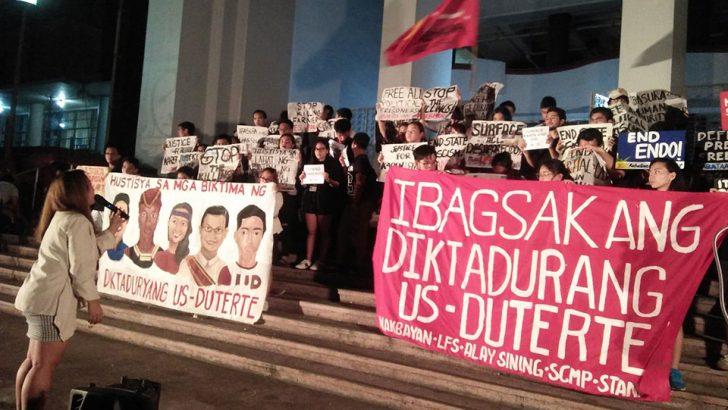 Black Friday Protest: Students slam de facto Martial Law