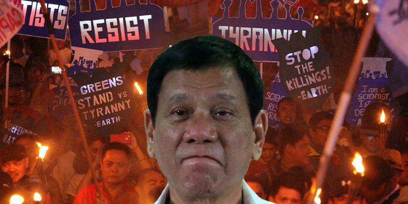 Environmental defenders vs Duterte
