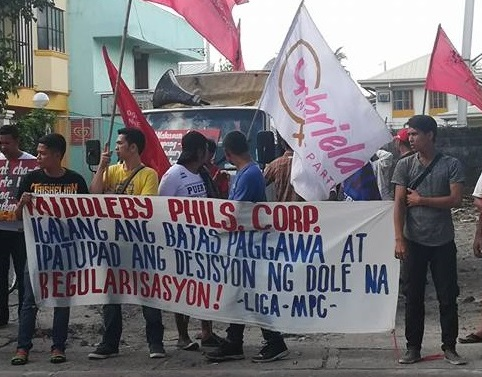 Middleby kitchen equipment maker refuses to regularize contractual workers on strike