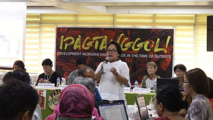 Development workers face more dangers under Duterte