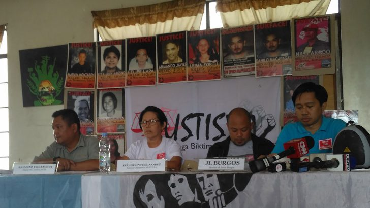 Kin of victims of extrajudicial killings, enforced disappearances under Arroyo to pursue justice