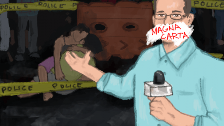 Magna Carta: Another attempt at silencing critical journalists