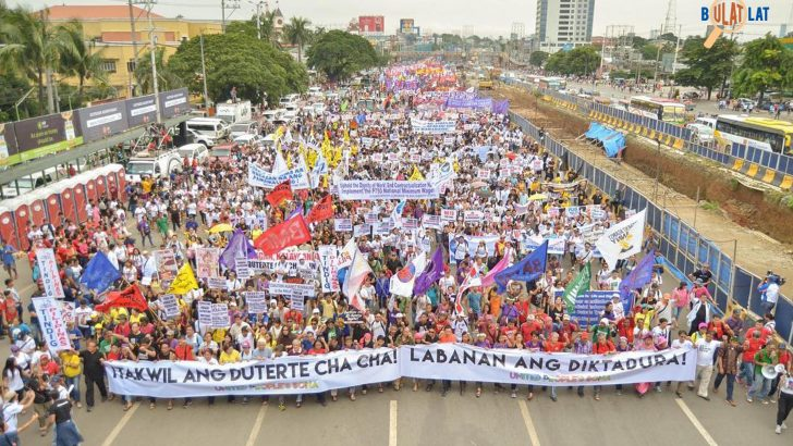 United People's SONA| One march, one program calling to end Cha-Cha, tyranny, killings