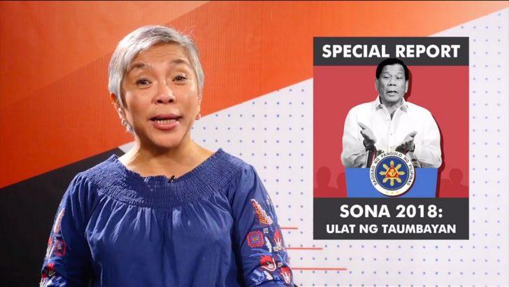 SONA 2018: Ulat ng Taumbayan