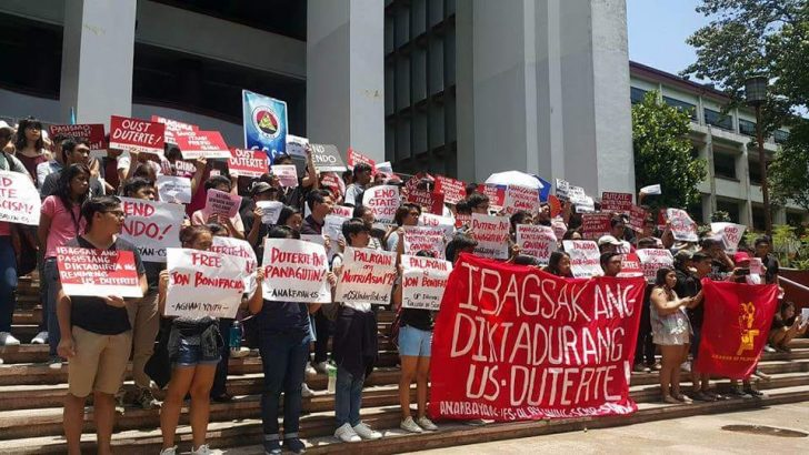 UP profs, students condemn arrest of campus journos in NutriAsia