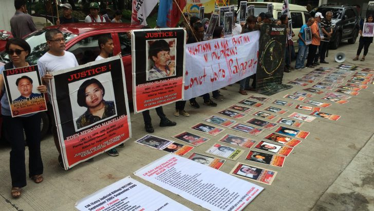 Victims of rights violations find justice as Palparan, 2 other Army officials convicted