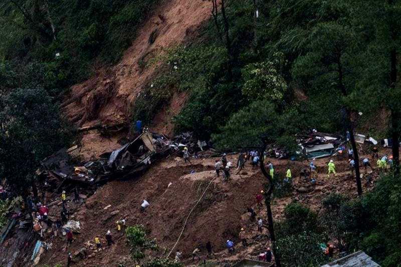 Itogon landslide 2018