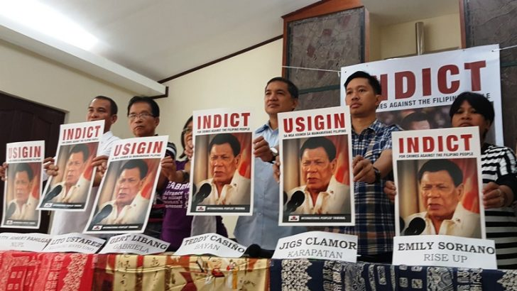 Int'l tribunal starts hearing cases of rights violations under Duterte