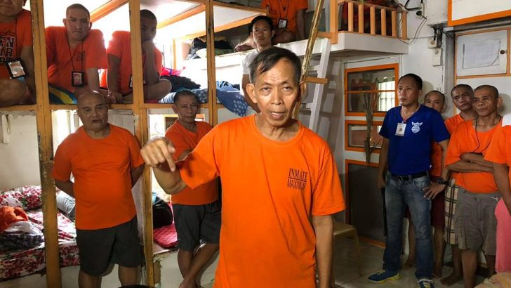 Palparan finally moved to Bilibid