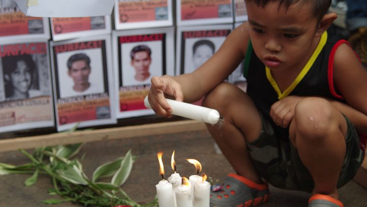 For kin of the disappeared, grief knows no end