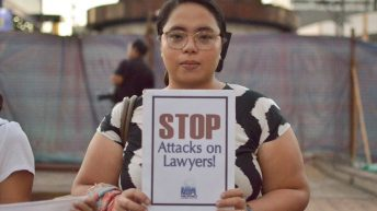 Lawyers' groups from 49 countries urge PH gov't to stop attacks on Filipino colleagues