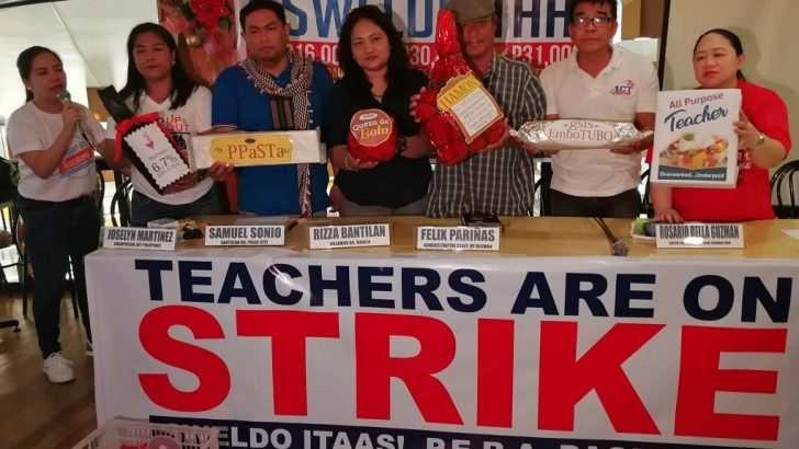 Public school teachers to hold sit-down strike