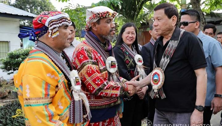 Lumad group: Duterte's 'Manobo leader' is fake, crooked