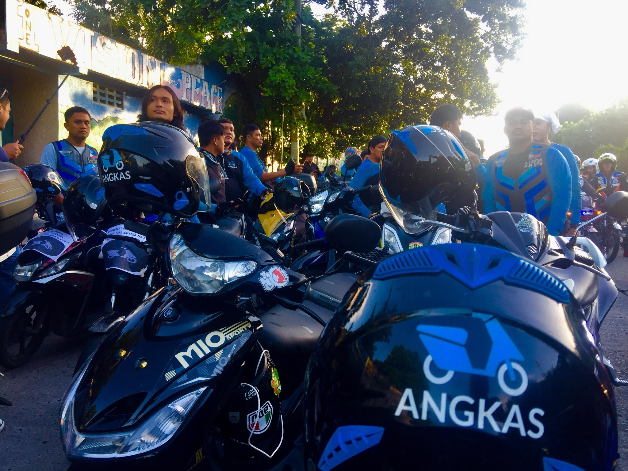 motorcycle riders protest vs  temporary restraining order