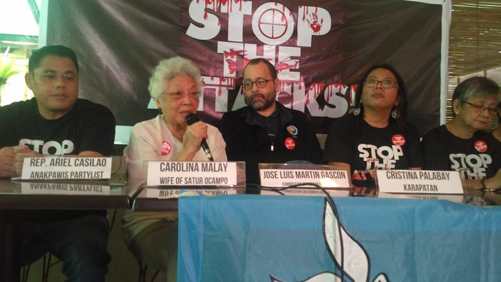 CHR, rights advocates slam arrest of Satur, 17 others