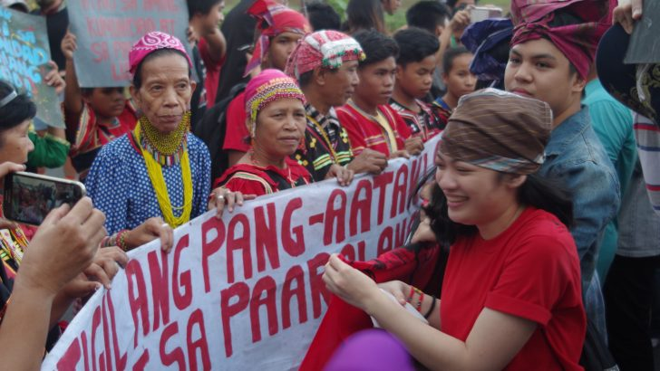 UP welcomes Lumad students