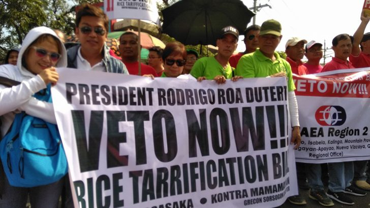 'Rice tariffication detrimental to NFA, consumers'