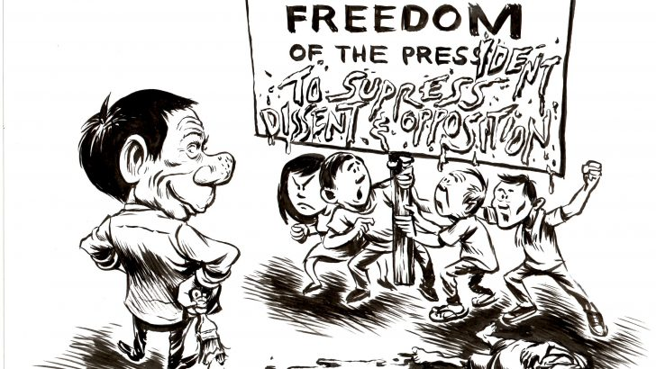 STATEMENT: Freedom of expression in the time of Duterte