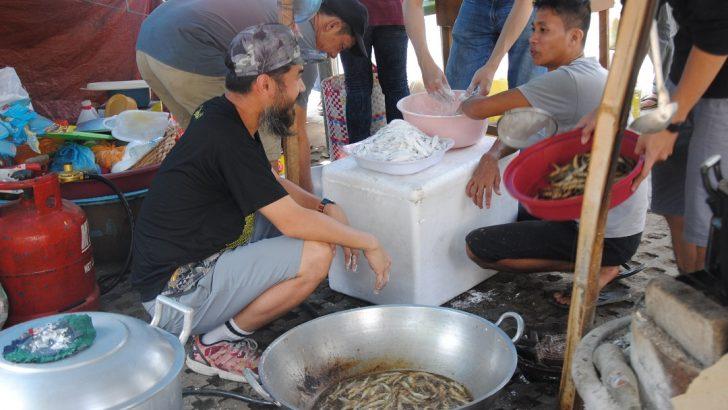 Kampuhan ng mga manggagawang agrikultural, dinepensahan ng kolektibong pagluluto