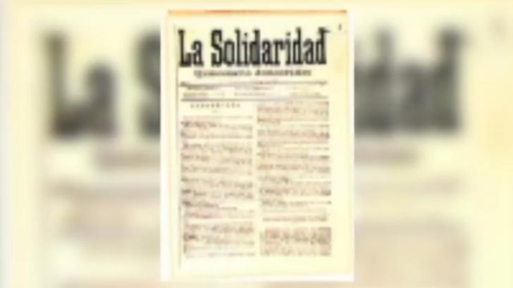 This Week on People's History: Establishment of La Solidaridad