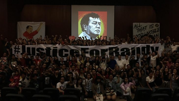 Rights defenders, peace advocates pay tribute to slain NDFP peace consultant